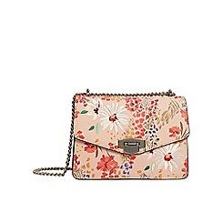 Mango - Natural floral print 'Daisy' bag