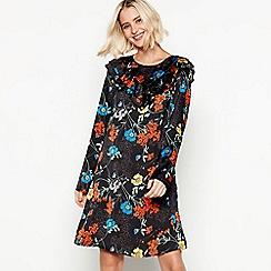 9e713161584 Vila - Black Floral Print  Vilisolda  Mini Dress