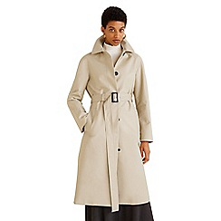 Mango - Cream 'Gaba' trench coat