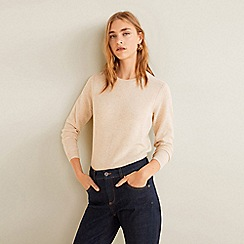 Mango - Blue dark wash 'Boy' skinny jeans