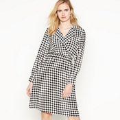 17d69f91fd Vero Moda - Black Dot Print  Sarah  Knee Length Wrap Dress