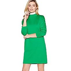 Simple Stories - Green Oversized 'Carla' Mini Sweatshirt Dress