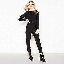 Simple Stories - Black Utility 'Nina' Jumpsuit