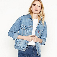 Levi's - Light Blue 'Ex-Boyfriend Trucker' Denim Jacket