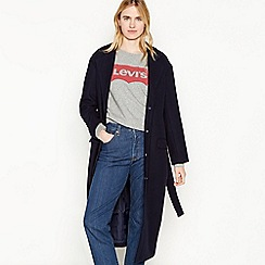 Levi's - Navy Belted 'Frida' Trench Coat