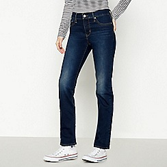 Levi's - Dark Blue '314' Shaping Straight Leg Jeans