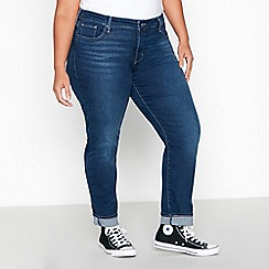 Levi's - Dark Blue Dark Wash '311 Shaping' Plus Size Skinny Jeans