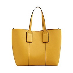 Mango Yellow Pebble Effect Cheval Per Bag