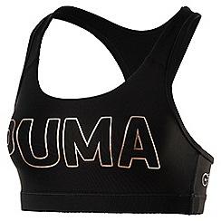 Puma - Black PWRSHAPE Forever sports bra