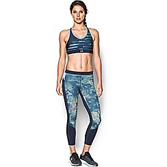 Under Armour - Blue 'Armour Mid' reversible sports bra