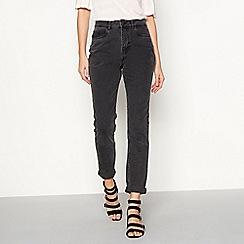 Noisy may - Grey mom jeans
