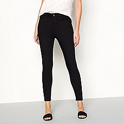 Noisy may - Black 'Lexi' super skinny jeans