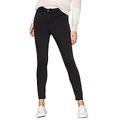 Noisy may - Grey 'Lexi' super skinny jeans