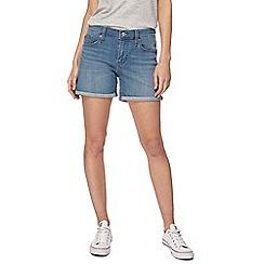 Levi's - Blue vintage wash denim shorts