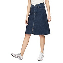 Levi's - Dark blue A-line denim skirt