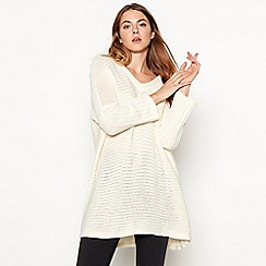 Noisy may - Cream 'Vera' jumper