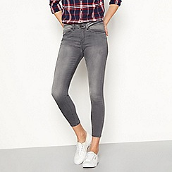 Noisy May - Grey 'Lucy Noos' skinny jeans