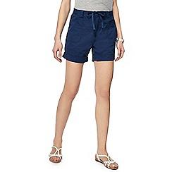 Weird Fish - Dark blue utility shorts
