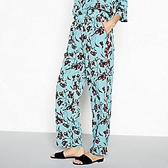 Vila - Turquoise 'Hila' pants