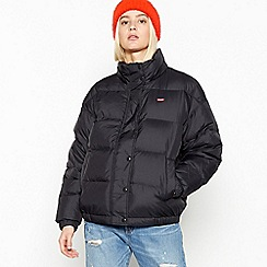 Levi's - Black 'Anya' Water Repellant Puffer Jacket