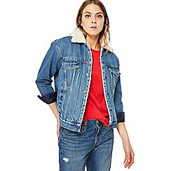 Levi's - Dark blue 'Trucker' denim jacket