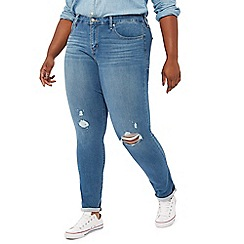 Levi's - Blue mid wash '311' shaping plus size skinny jeans