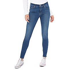 Levi's - Mid blue mid wash '310' shaping super skinny jeans