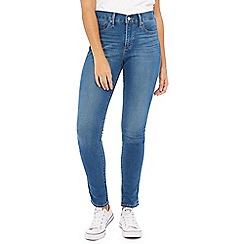 Levi's - Blue mid wash '311 Shaping' skinny jeans