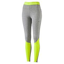 Puma - Women's Bright yellow Transition leggings