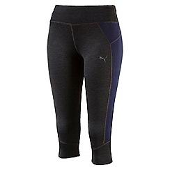 Puma - Women's Grey Pwrcool Speed 3/4 tights