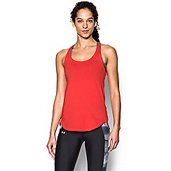 Under Armour - Red logo print vest