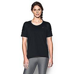 Under Armour - Black logo print t-shirt
