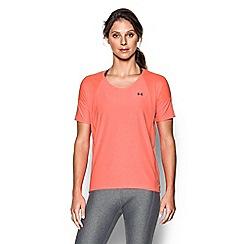 Under Armour - Orange 'Got Game' twist t-shirt