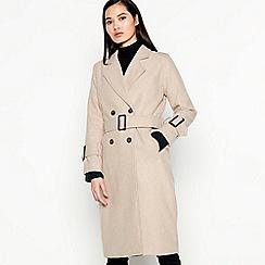 Moves - Natural Trench Wool Blend 'Belva' Coat