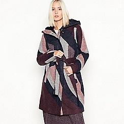 Vila - Multi colour block 'Marla' hooded jacket