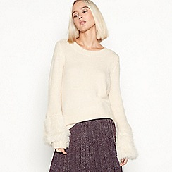 Vila - Cream 'Vimarla' wool jumper