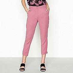 Stella Nova - Dark pink 'Cool and Clean' trousers