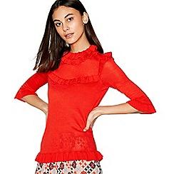 Stella Nova - Red melange knit jumper