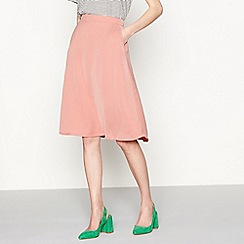 Six Ames - Pink 'Likka' jersey skirt