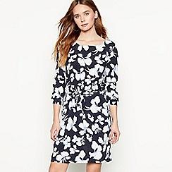 mbyM - Multi-coloured floral print long sleeve 'Caldiz' dress