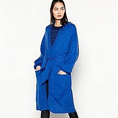 mbyM - Bright Blue 'Walton' Longline Belted Cardigan