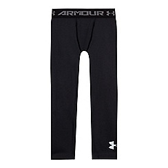 Under Armour - Childrens' black logo print leggings