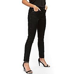 Wallis - Petite sequin side trouser