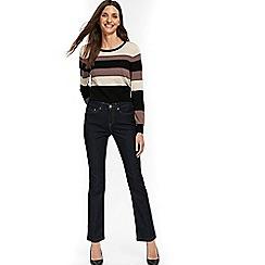 Wallis - Petite indigo harper straight leg jeans