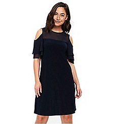 Wallis - Petite navy dress