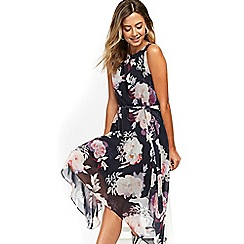 Wallis - Petite blossom floral dress