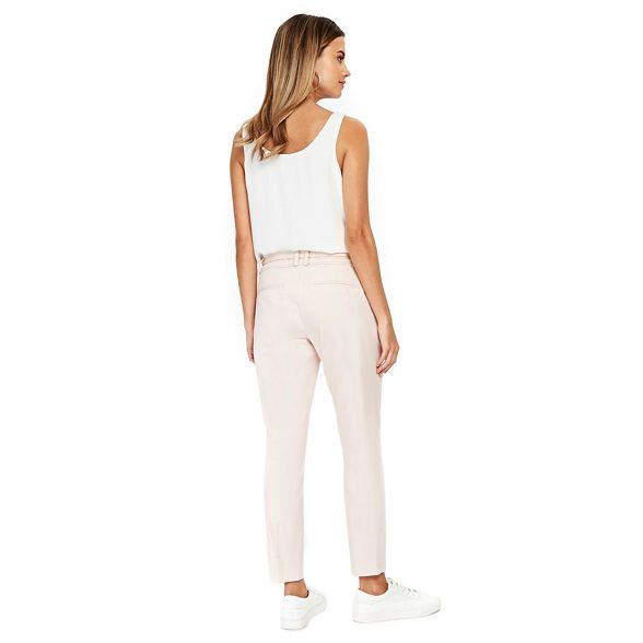 Wallis Petite Petite trousers Wallis blush belted fqHdUw