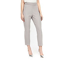 Wallis - Petite grey slim leg trousers