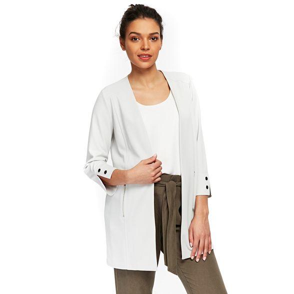 longline blazer Petite Wallis grey Petite grey longline Wallis blazer grey Petite blazer Wallis longline TwOpafaExq
