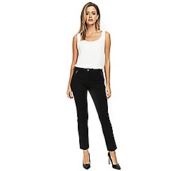 Wallis - Petite black slim fit trousers